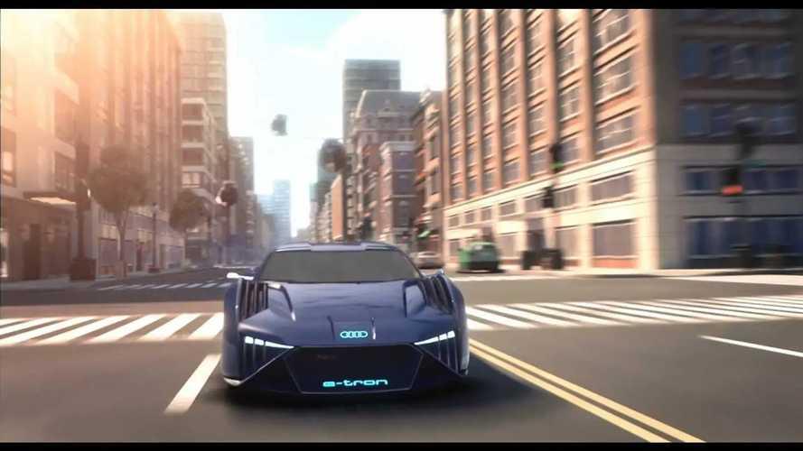 Audi RSQ e-tron, la nueva estrella eléctrica de 'Espías con Disfraz'