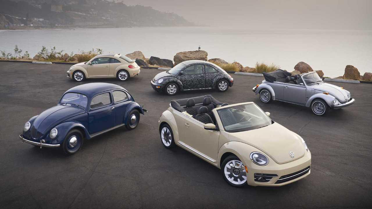 Evolution of the Volkswagen Beetle