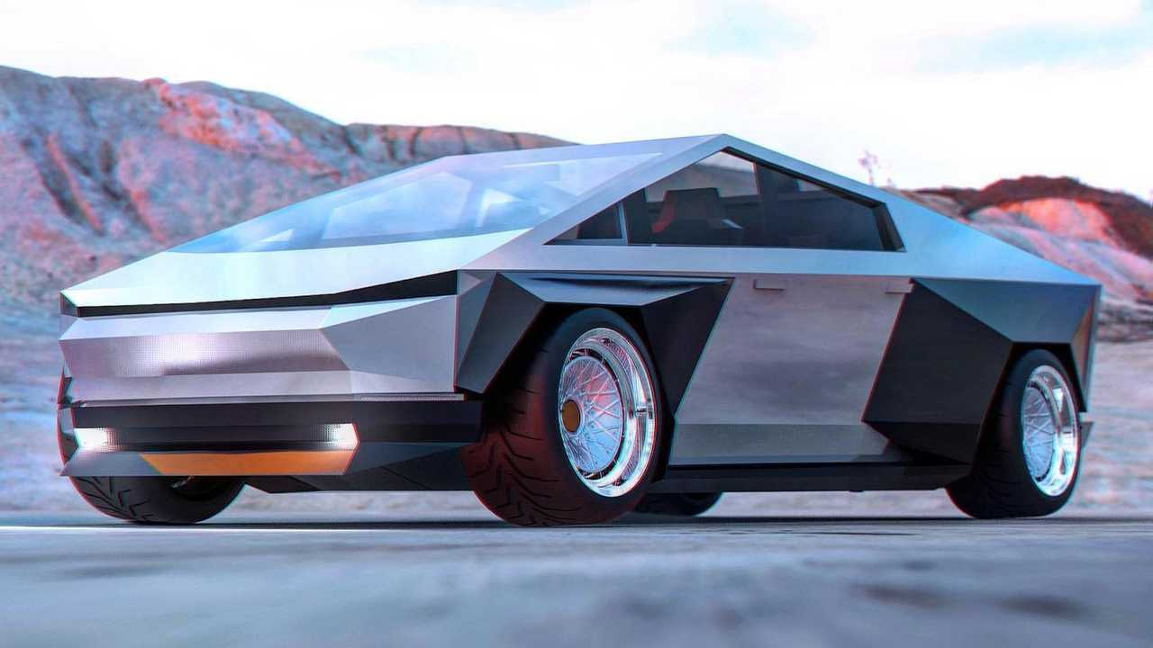 Tesla Cybertruck Hellcat Rendering Looks Better But Pointless - Motor1 US