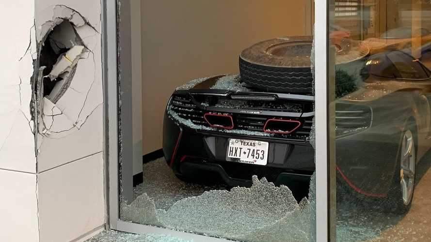 MLB Pitcher Trevor Bauer's 2016 McLaren 650S Totaled At TX Dealer