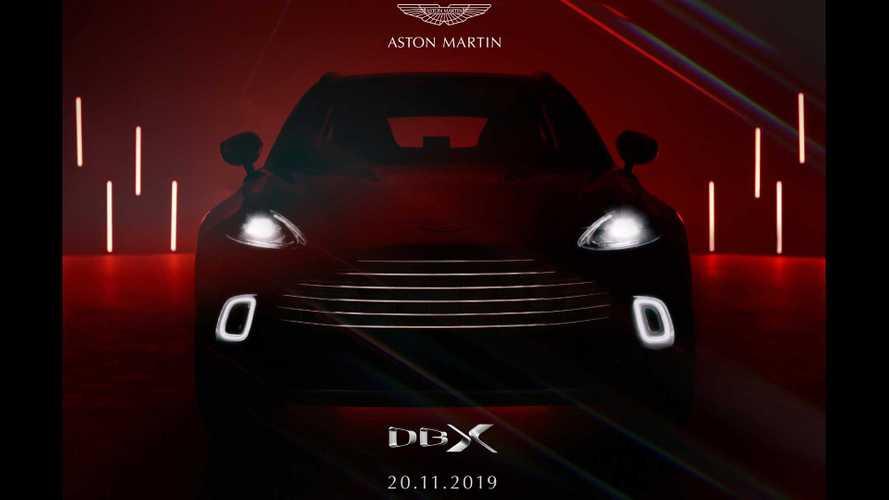 Aston Martin DBX, in arrivo anche una versione ibrida