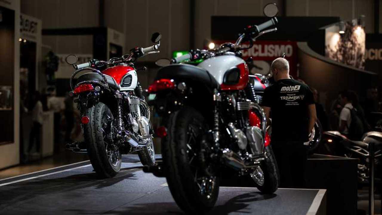 Triumph Bonneville T100 e T120 Eicma 2019