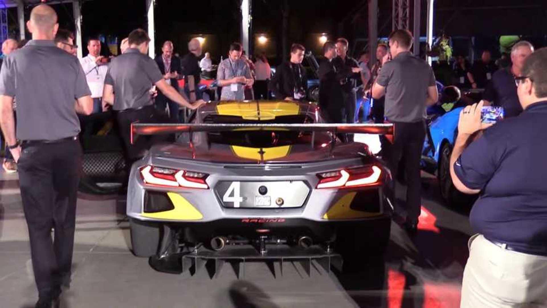 2020 Chevy Corvette C8.R's Race Engine Sounds Like An F1 Car