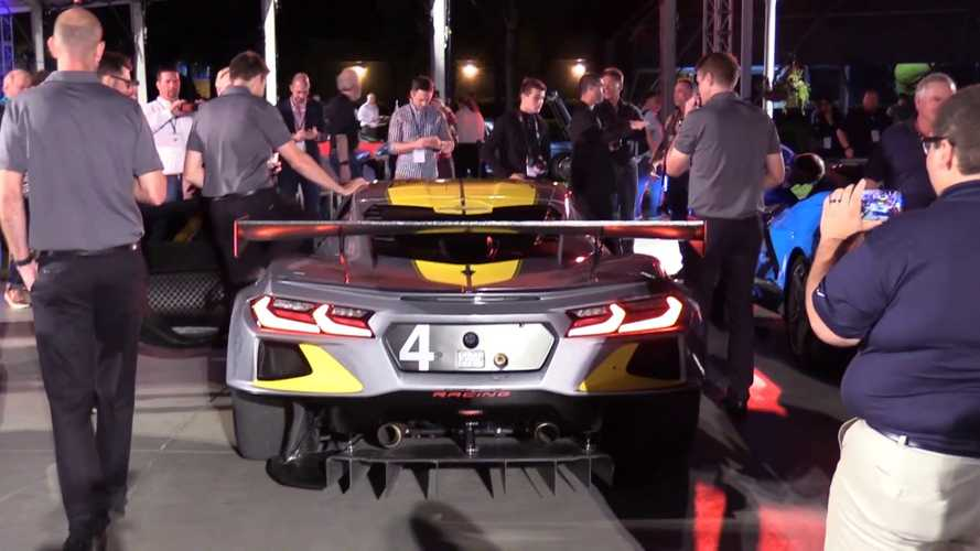 2020 Chevy Corvette C8.R's race engine sounds like an F1 car