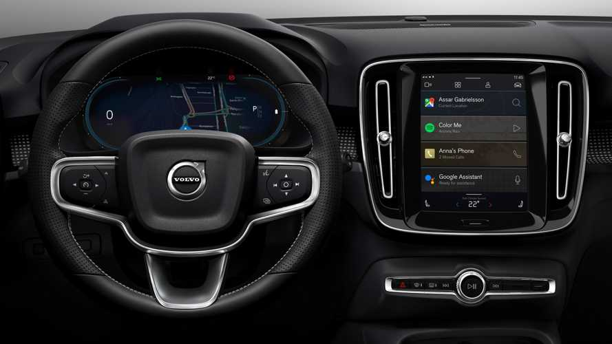 Volvo XC40 Electric Shows New Android-Powered Infotainment