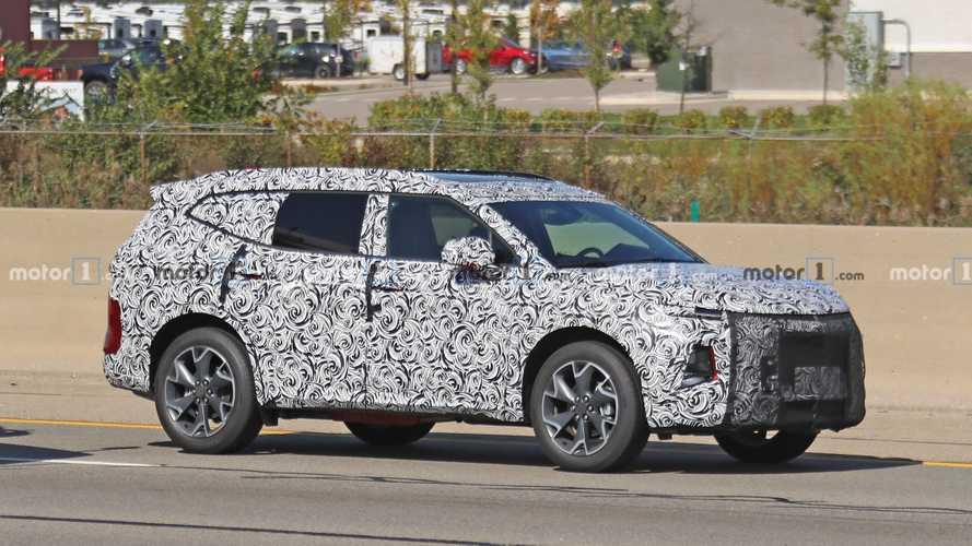 Chevy Blazer XL Loses Heavy Camo To Reveal Its Seven-Passenger Size