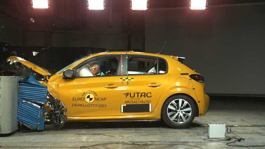 Novo Peugeot 208 recebe 4 estrelas em teste de colisão