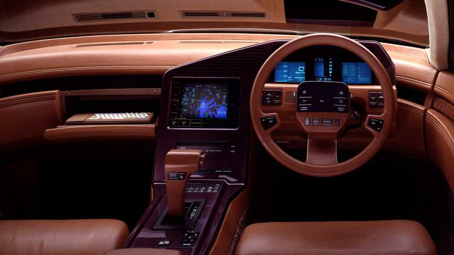 Nissan CUE-X , 34 anni e non sentirli