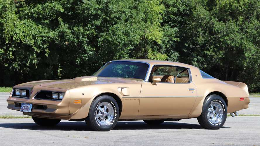 Special-Ordered 1978 Pontiac Trans Am Is Good As Gold