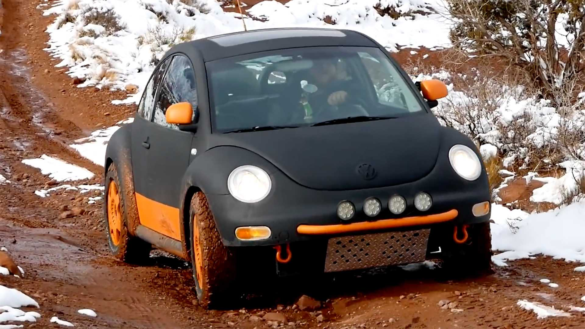 Lifted VW Beetle Is A Budget Off-Road-Ish Machine