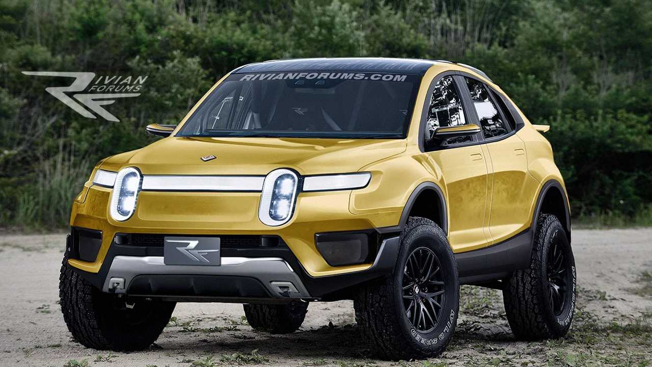 Rivian Rally Car Rendered