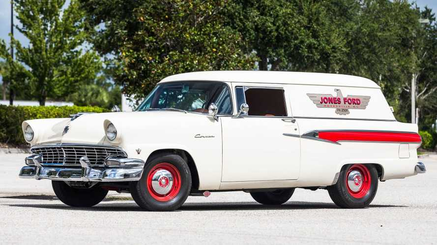 Restored 1956 Ford Courier Sedan Delivery Hammers For $30.8K