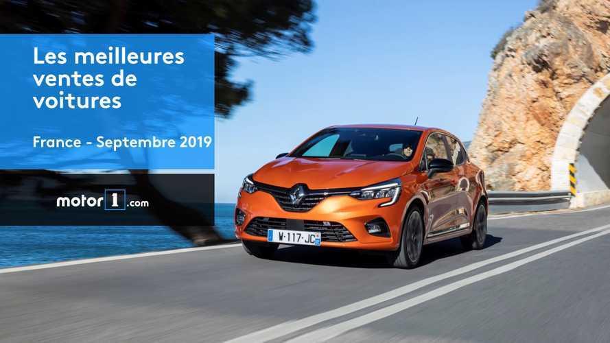 VIDÉO - Les 10 voitures les plus vendues en France en septembre