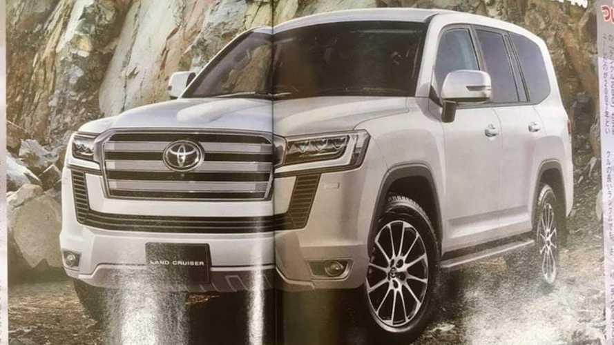 Рассекречена внешность нового Toyota Land Cruiser