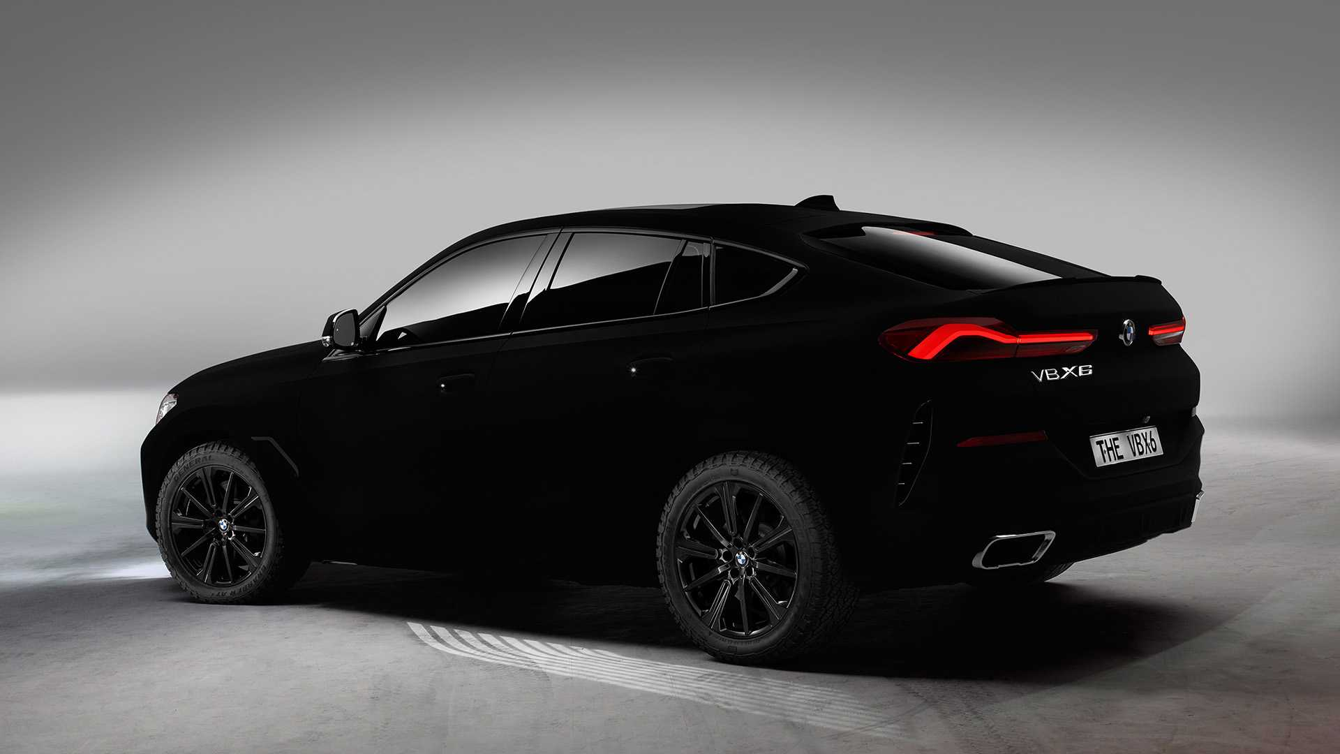 Bmw X6 Vantablack Arrives In World S Darkest Black Color