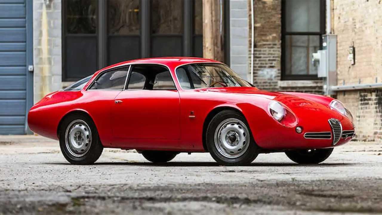 Alfa Romeo Giulietta SZ (1962) - 800 000 euró