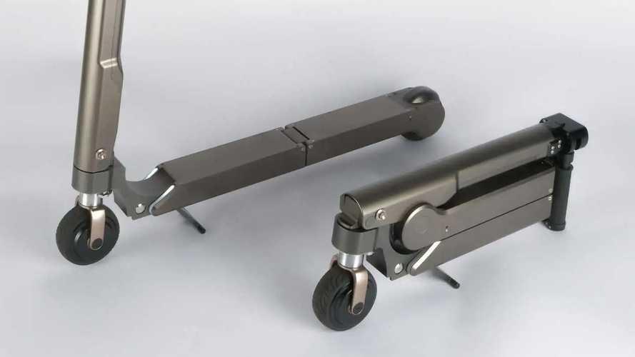 Monopattini elettrici, da Hyundai un prototipo supercompatto