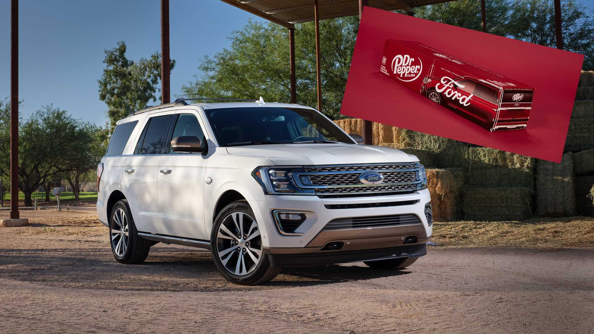 Ford And Dr Pepper Partner On Weird Expedition Cup Holder Promo