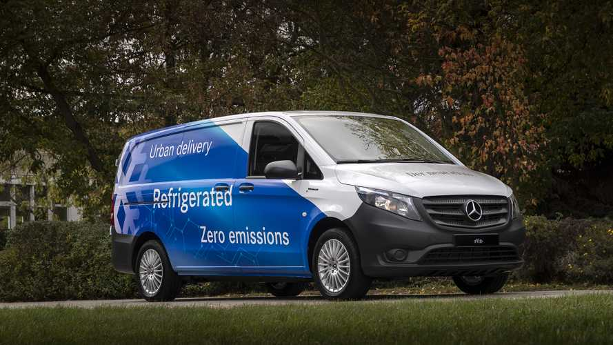 Mercedes-Benz Vans lancia eVito Artic Fox
