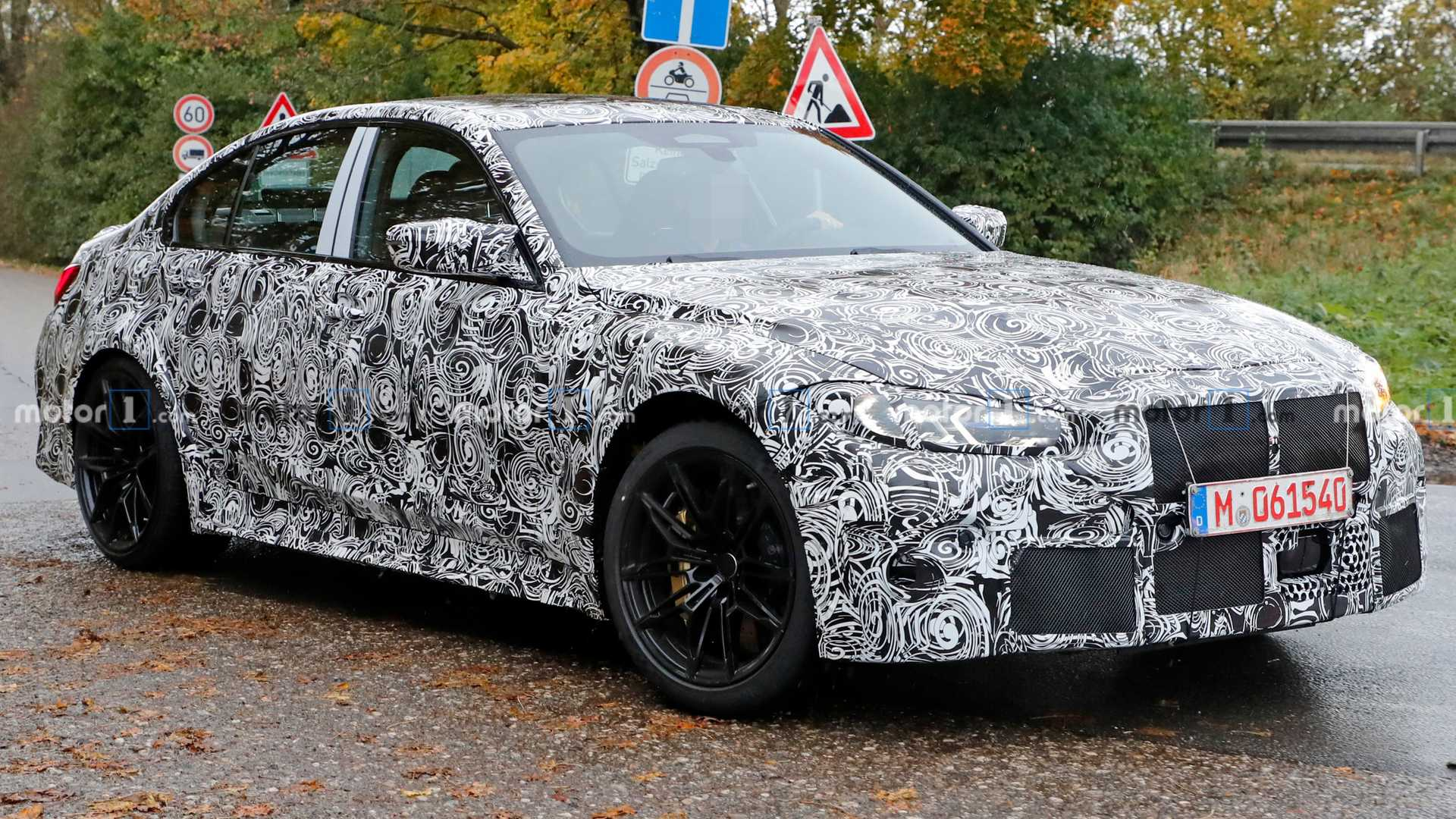 4 BMW M4 Loses Some Camouflage In New Spy Shots