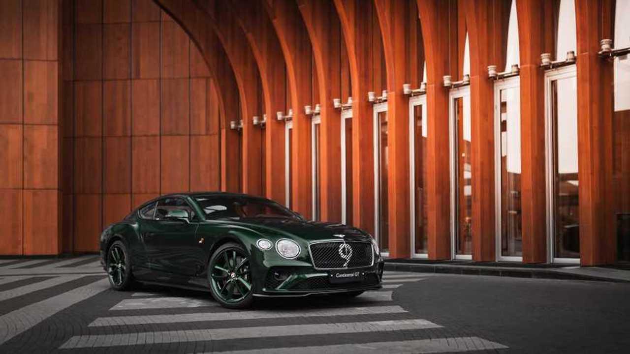 Bentley Continental GT Number 9 Edition для России