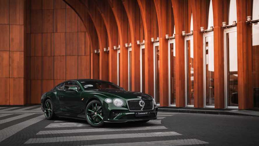 В России продадут три из сотни уникальных купе Bentley