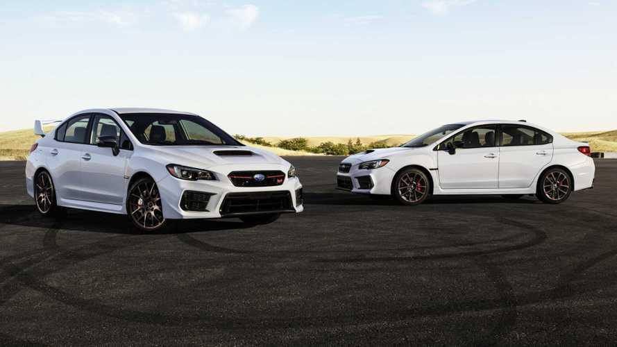 Subaru WRX Series.White, di tutti i colori purché bianca