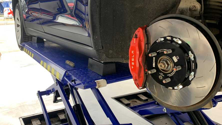 EBC Brakes Claim To Improve Tesla Model S And X Range By 15 Miles