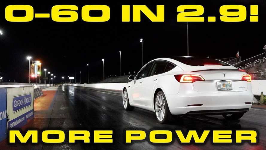 Tesla Model 3 Performance Gets More Power: 0-60 MPH in 2.9 Seconds