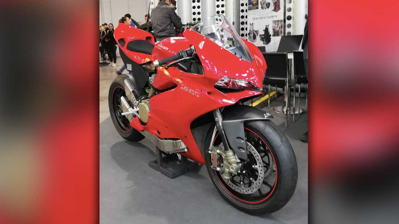 Efesto Hybrid Conversion Kit For Panigale