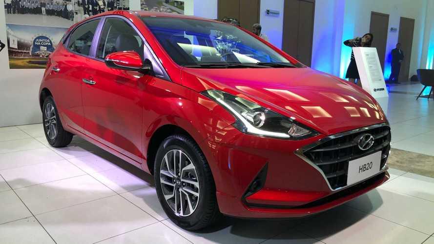 Novo Hyundai HB20 2020 é lançado com preço inicial de R$ 46.490