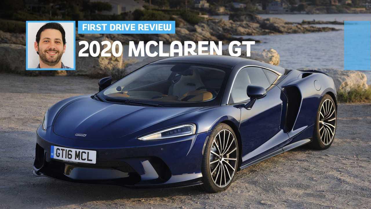 2020 McLaren GT First Drive Lead