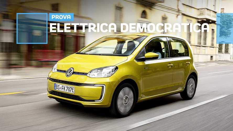Volkswagen e-up!, cittadina alla spina