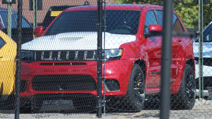 Jeep Grand Cherokee Trackhawk Spy Shots Suggest Last Hurrah Is Coming