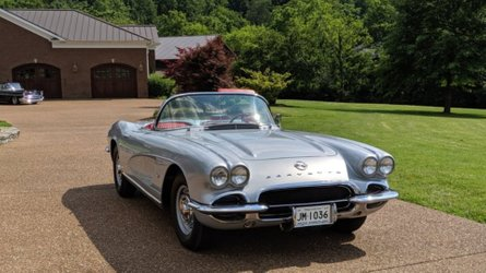 1962 chevy corvette convertible selling at no reserve