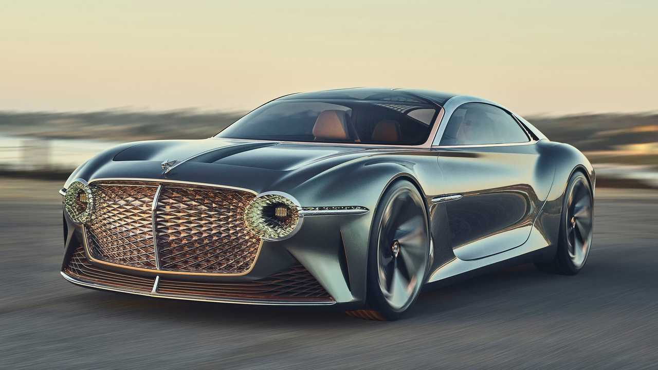 Bentley EXP 100 GT At Monterey