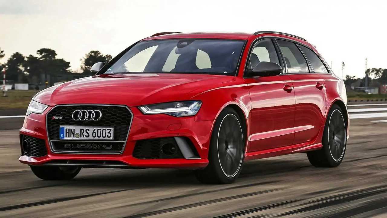 Audi RS 6 Avant 2019 vs. 2015