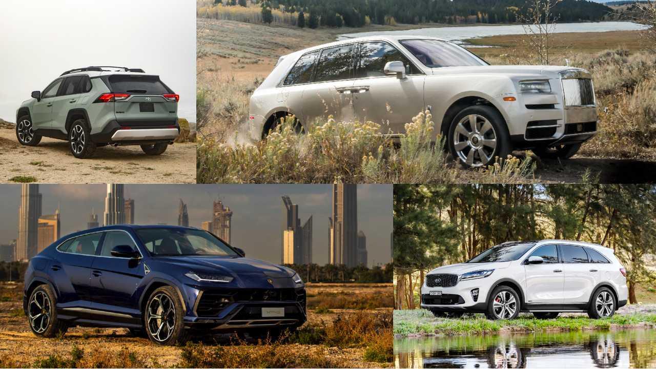 Off-Road SUVs Lead