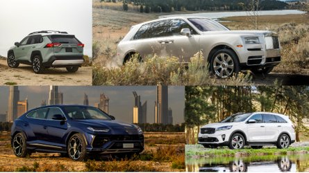 10 crossovers that are surprisingly capable off-road