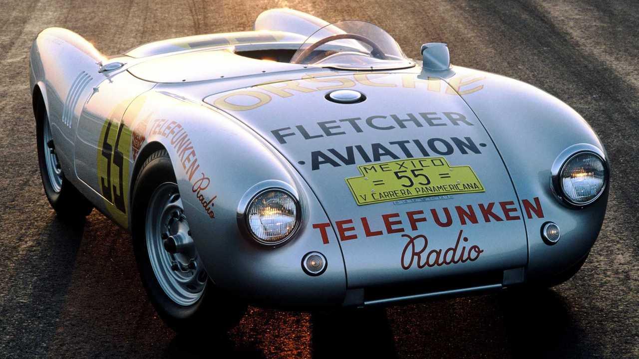 Porsche 550 rs spyder carrera panamericana