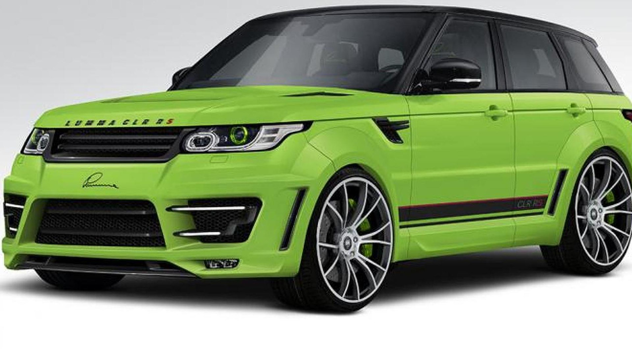 Range Rover Sport CLR RS by Lumma Design 27.04.2013