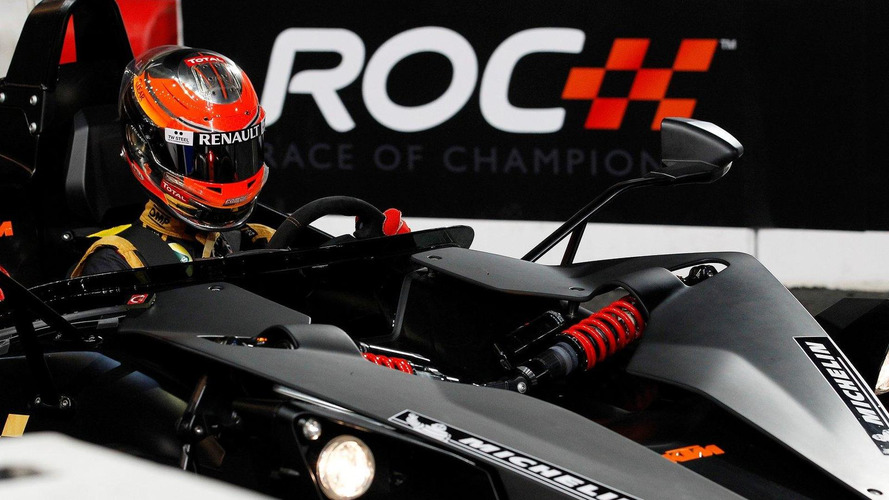 Grosjean wins the Race of Champions