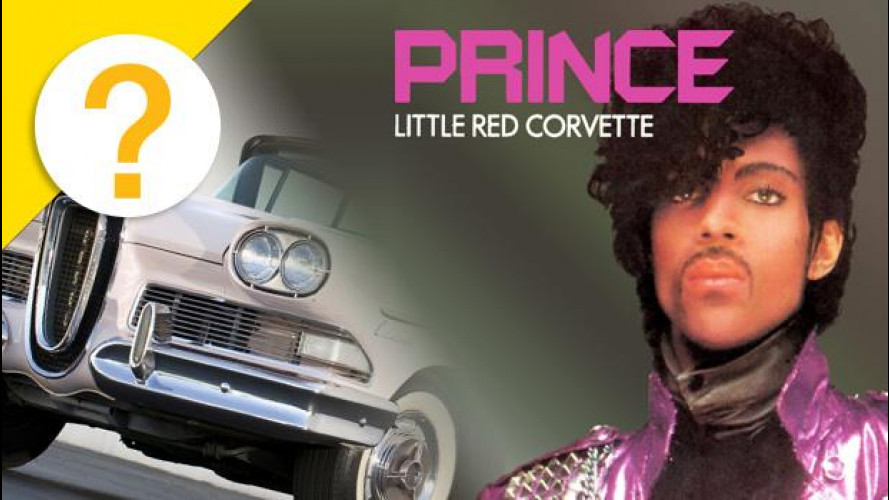 "La ""Little Red Corvette"" di Prince era una Ford Edsel rosa"