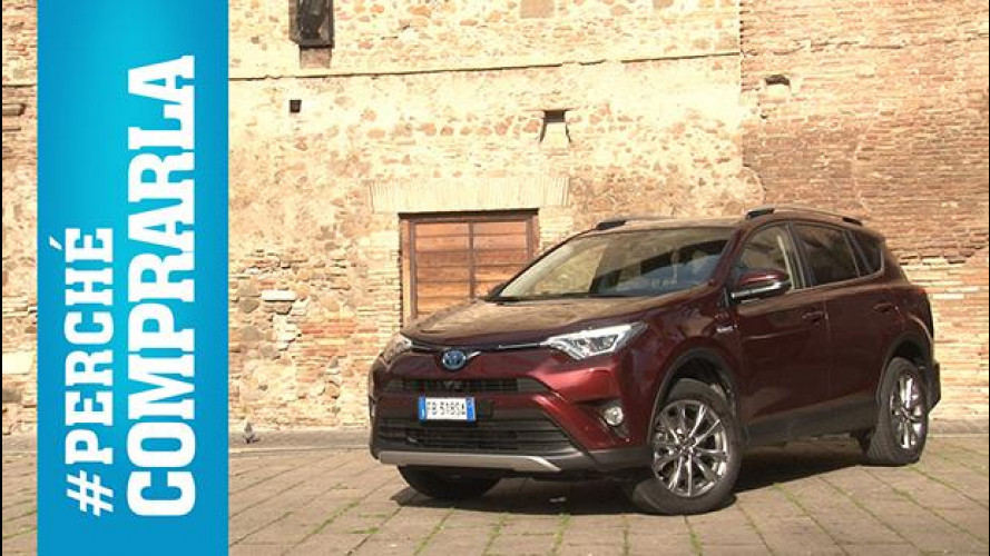 Toyota RAV4 Hybrid, perché comprarla... e perché no [VIDEO]