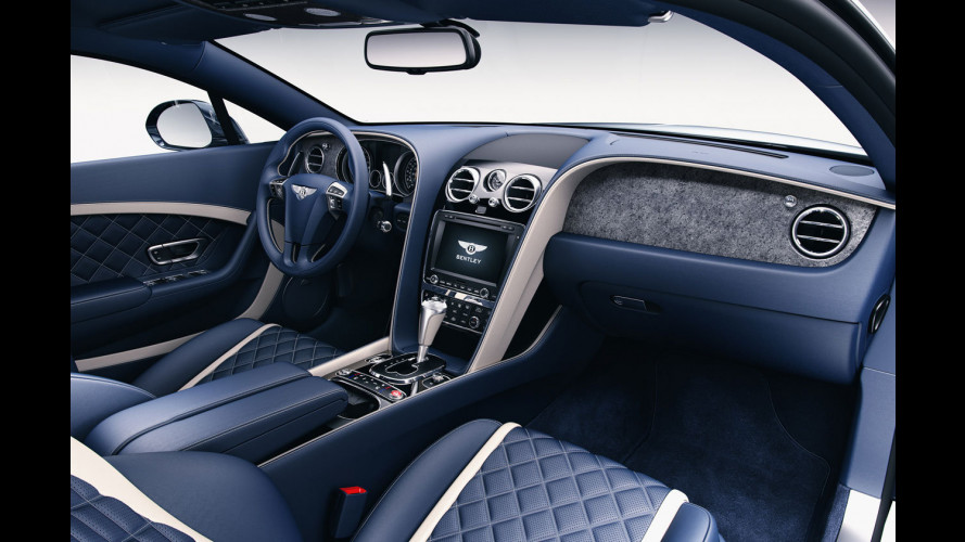 Da Bentley la plancia in pietra su Continental e Flying Spur
