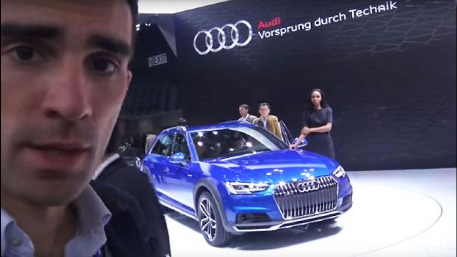 "Audi A4 allroad, la nuova station ""suvvizzata"" da vicino [VIDEO]"