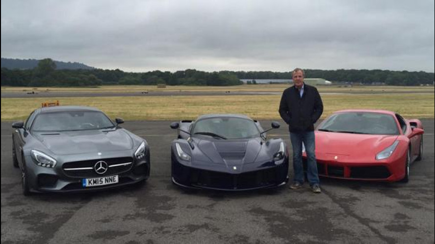 Jeremy Clarkson, ultima corsa sul Top Gear Test Track