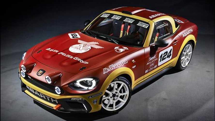 [Copertina] - Abarth 124 rally, ritorna alla grande con 300 CV