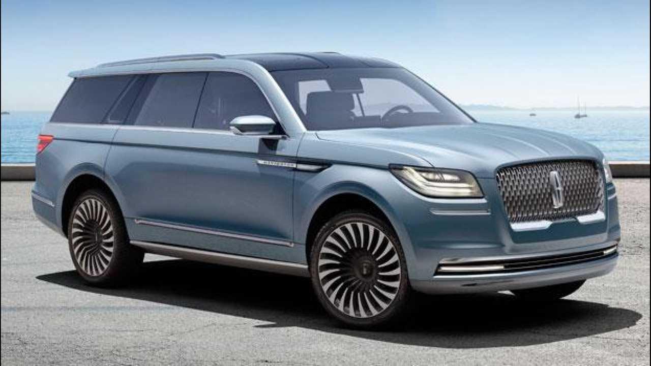 [Copertina] - Lincoln Navigator concept, un assaggio del nuovo SUV full-size