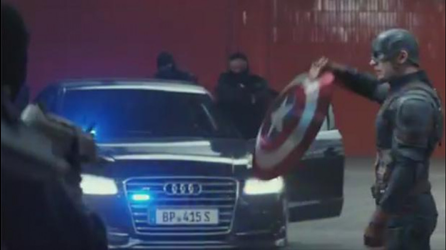 Captain America: Civil War, Audi torna sul set con gli Avengers